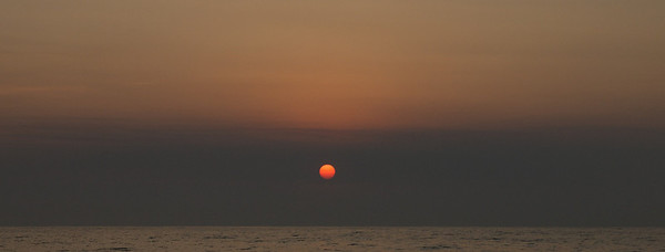 Passage eastward to Huatulco April 2013  Sunrise.