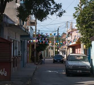 Mazatlán January 2013  Old neighbourhood near old harbour.